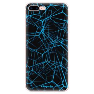 Silikonové pouzdro iSaprio (mléčně zakalené) Abstract Outlines 12 na mobil Apple iPhone 7 Plus