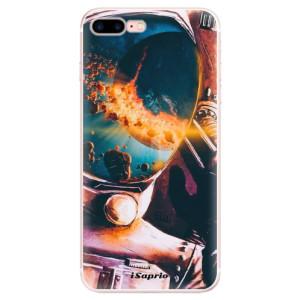 Silikonové pouzdro iSaprio (mléčně zakalené) Astronaut 01 na mobil Apple iPhone 7 Plus