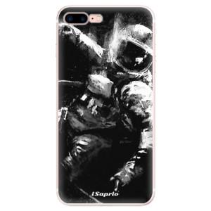 Silikonové pouzdro iSaprio (mléčně zakalené) Astronaut 02 na mobil Apple iPhone 7 Plus