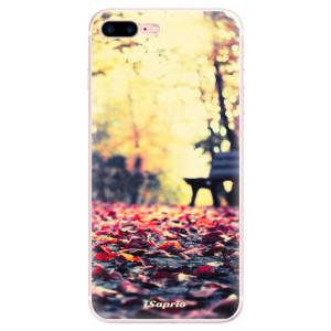 Silikonové pouzdro iSaprio (mléčně zakalené) Bench 01 na mobil Apple iPhone 7 Plus