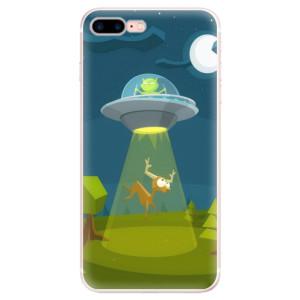Silikonové pouzdro iSaprio (mléčně zakalené) Ufouni 01 na mobil Apple iPhone 7 Plus
