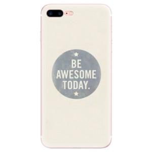 Silikonové pouzdro iSaprio (mléčně zakalené) Awesome 02 na mobil Apple iPhone 7 Plus