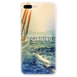 Silikonové pouzdro iSaprio (mléčně zakalené) Beginning na mobil Apple iPhone 7 Plus