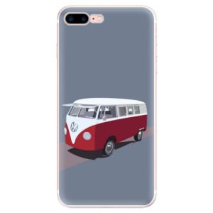 Silikonové pouzdro iSaprio (mléčně zakalené) VW Bus na mobil Apple iPhone 7 Plus