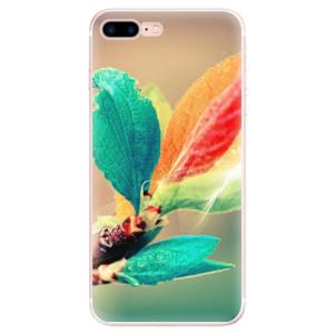 Silikonové pouzdro iSaprio (mléčně zakalené) Podzim 02 na mobil Apple iPhone 7 Plus