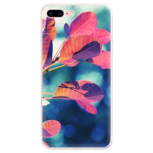 Silikonové pouzdro iSaprio (mléčně zakalené) Podzim 01 na mobil Apple iPhone 7 Plus