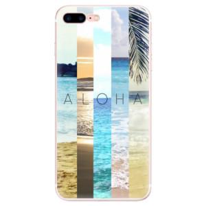 Silikonové pouzdro iSaprio (mléčně zakalené) Aloha 02 na mobil Apple iPhone 7 Plus