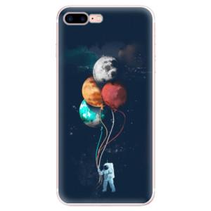 Silikonové pouzdro iSaprio (mléčně zakalené) Balónky 02 na mobil Apple iPhone 7 Plus