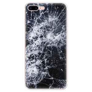 Silikonové pouzdro iSaprio (mléčně zakalené) Praskliny na mobil Apple iPhone 7 Plus