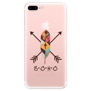 Silikonové pouzdro iSaprio (mléčně zakalené) BOHO na mobil Apple iPhone 7 Plus