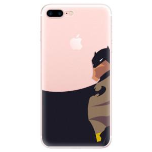 Silikonové pouzdro iSaprio (mléčně zakalené) BaT Komiks na mobil Apple iPhone 7 Plus