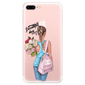 Silikonové pouzdro iSaprio (mléčně zakalené) Beautiful Day na mobil Apple iPhone 7 Plus