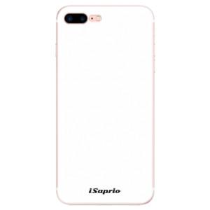 Silikonové pouzdro iSaprio 4Pure bílé na mobil Apple iPhone 7 Plus