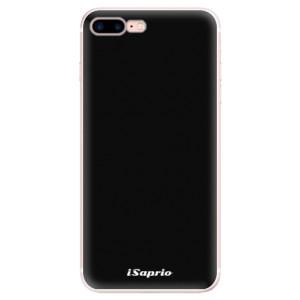Silikonové pouzdro iSaprio 4Pure černé na mobil Apple iPhone 7 Plus
