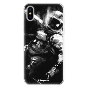 Silikonové pouzdro iSaprio (mléčně zakalené) Astronaut 02 na mobil Apple iPhone X