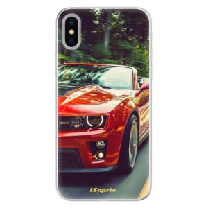 Silikonové pouzdro iSaprio (mléčně zakalené) Chevrolet 02 na mobil Apple iPhone X