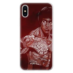 Silikonové pouzdro iSaprio (mléčně zakalené) Bruce Lee na mobil Apple iPhone X