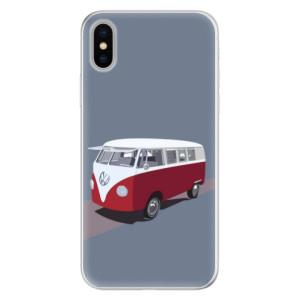Silikonové pouzdro iSaprio (mléčně zakalené) VW Bus na mobil Apple iPhone X