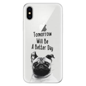 Silikonové pouzdro iSaprio (mléčně zakalené) Better Day 01 na mobil Apple iPhone X