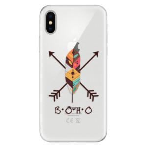 Silikonové pouzdro iSaprio (mléčně zakalené) BOHO na mobil Apple iPhone X