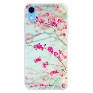 Silikonové pouzdro iSaprio (mléčně zakalené) Blossom 01 na mobil Apple iPhone XR