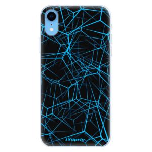 Silikonové pouzdro iSaprio (mléčně zakalené) Abstract Outlines 12 na mobil Apple iPhone XR