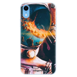 Silikonové pouzdro iSaprio (mléčně zakalené) Astronaut 01 na mobil Apple iPhone XR