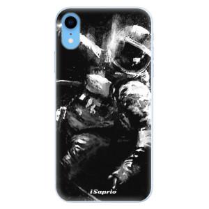 Silikonové pouzdro iSaprio (mléčně zakalené) Astronaut 02 na mobil Apple iPhone XR