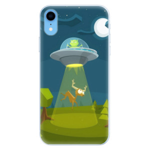 Silikonové pouzdro iSaprio (mléčně zakalené) Ufouni 01 na mobil Apple iPhone XR