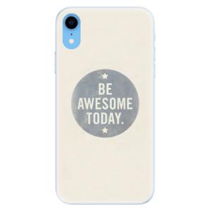 Silikonové pouzdro iSaprio (mléčně zakalené) Awesome 02 na mobil Apple iPhone XR