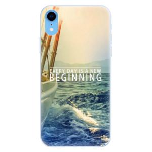 Silikonové pouzdro iSaprio (mléčně zakalené) Beginning na mobil Apple iPhone XR