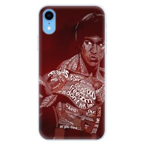 Silikonové pouzdro iSaprio (mléčně zakalené) Bruce Lee na mobil Apple iPhone XR