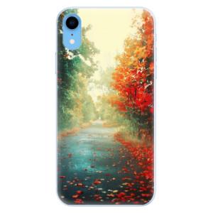 Silikonové pouzdro iSaprio (mléčně zakalené) Podzim 03 na mobil Apple iPhone XR
