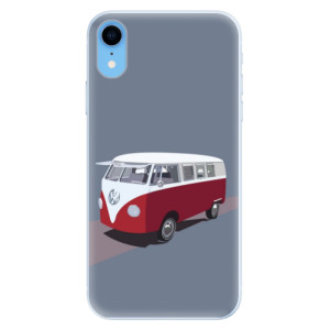 Silikonové pouzdro iSaprio (mléčně zakalené) VW Bus na mobil Apple iPhone XR