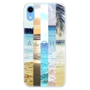 Silikonové pouzdro iSaprio (mléčně zakalené) Aloha 02 na mobil Apple iPhone XR