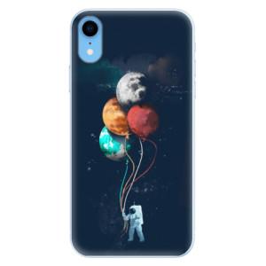 Silikonové pouzdro iSaprio (mléčně zakalené) Balónky 02 na mobil Apple iPhone XR