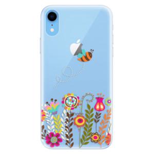 Silikonové pouzdro iSaprio (mléčně zakalené) Včelka Pája 01 na mobil Apple iPhone XR