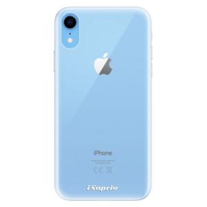 Silikonové pouzdro iSaprio 4Pure mléčné bez potisku na mobil Apple iPhone XR