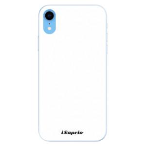 Silikonové pouzdro iSaprio 4Pure bílé na mobil Apple iPhone XR