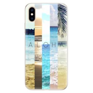 Silikonové pouzdro iSaprio (mléčně zakalené) Aloha 02 na mobil Apple iPhone XS