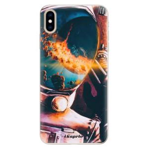 Silikonové pouzdro iSaprio (mléčně zakalené) Astronaut 01 na mobil Apple iPhone XS Max