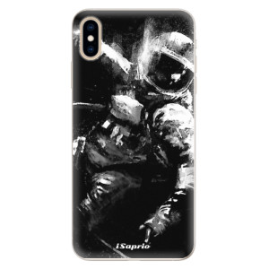 Silikonové pouzdro iSaprio (mléčně zakalené) Astronaut 02 na mobil Apple iPhone XS Max