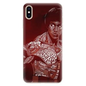 Silikonové pouzdro iSaprio (mléčně zakalené) Bruce Lee na mobil Apple iPhone XS Max