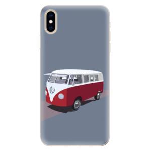 Silikonové pouzdro iSaprio (mléčně zakalené) VW Bus na mobil Apple iPhone XS Max
