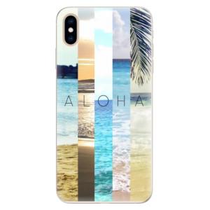 Silikonové pouzdro iSaprio (mléčně zakalené) Aloha 02 na mobil Apple iPhone XS Max