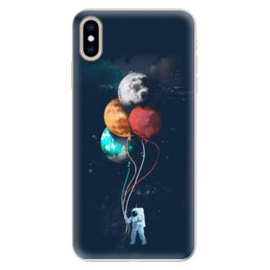 Silikonové pouzdro iSaprio (mléčně zakalené) Balónky 02 na mobil Apple iPhone XS Max