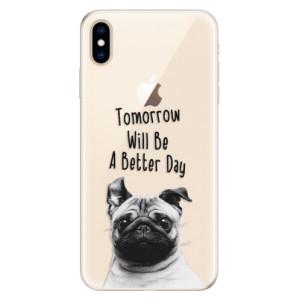 Silikonové pouzdro iSaprio (mléčně zakalené) Better Day 01 na mobil Apple iPhone XS Max