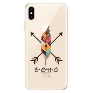 Silikonové pouzdro iSaprio (mléčně zakalené) BOHO na mobil Apple iPhone XS Max
