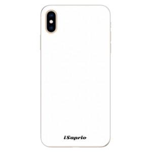 Silikonové pouzdro iSaprio 4Pure bílé na mobil Apple iPhone XS Max