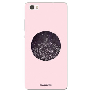 Silikonové pouzdro iSaprio (mléčně zakalené) Hora 10 na mobil Huawei P8 Lite